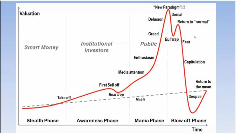 The 4 Psychological Phases of Asset Bubbles