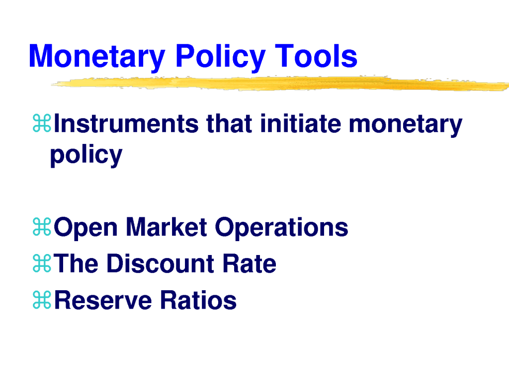 3 ways the fed increase money supply